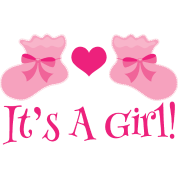 Baby Girl It's a Girl by homewiseshopper