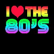 I love the 80s gaming t shirt spreadshirt - I love 80s wallpaper ...