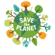Save The Planet Ecology T-shirt