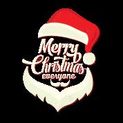 Merry Christmas Everyone Santa Beard by kamikaza | Spreadshirt