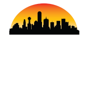 sunset skyline silhouette of dallas tx by awesome shirts spreadshirt