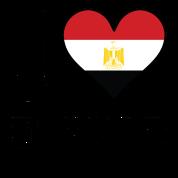 I Love Egypt Egyptian Flag Heart Small Buttons | Spreadshirt