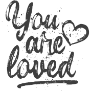 about the designer you are loved cool quote fancy lettering