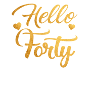 hello forty five 40th birthday shirt by zalotees spreadshirt