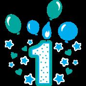 first birthday boy 1st birthday toddler gift 1year by melia513