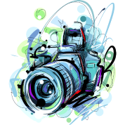 Cool Camera Sketch Vector Image Abstract Awesome Iphone Case Flexible Spreadshirt