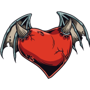 devil heart by rsarker spreadshirt
