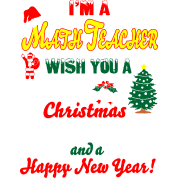 im math teacher merry christmas happy new year