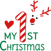 My first Christmas by Vectorqueen   Spreadshirt