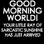 Funny Sarcastic Humor Good Morning Sunshine Men's Premium T-Shirt - royal  blue