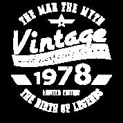 40th birthday gift for men 1978 by bestgifttshirt spreadshirt