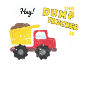 2nd Birthday Shirt Party Toddler Kids Dump Truck Construction