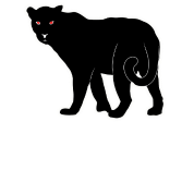 black panther silhouette big cat design by mmandi spreadshirt