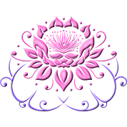 Lotus flower with leaves yoga by christine krahl spreadshirt lotus flower with leaves yoga mightylinksfo