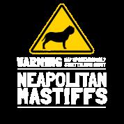 Neapolitan Mastiff Dog Owner Warning Sign Dog Gift Apron Spreadshirt