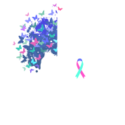 Her Fight Is My Fight Thyroid Cancer Awareness Full Color Mug