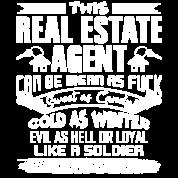 Real Estate Funny Women's Organic T-Shirt - black