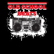 Old School Beats Boombox Retro Hip Hop Rap Music Trucker Cap