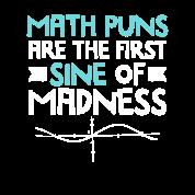 0a9704c6 Funny Pun Math Teacher Calculus Gift Joke Tshirt Maternity T-Shirt ...