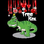 T Rex Christmas.Tree Rex Christmas Dinosaur T Rex Xmas Design Toddler Premium T Shirt Black