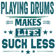 Cool Funny Drumming Drummer Quotes Life Sayings Water Bottle Spreadshirt