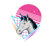 80s Unicorn Retro Gift Vintage Magical Horse Toddler Premium T Shirt Spreadshirt