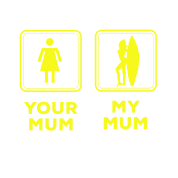 Your Mum My Mum Wife Funny Comparison Witty Memes Maternity T Shirt Spreadshirt