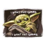 I Want Fuit Gummy Baby Yoda Men S T Shirt Spreadshirt Jiangsu handian biotechnology co., ltd. fruit of the loom