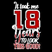 18 Birthday Gift Teenager 18 Years Old Teen Men S Premium T Shirt Spreadshirt