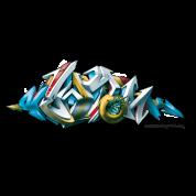 Phame Design For New York Graffiti 3d Style Kids T Shirt