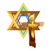 star of david and triple cross by lotacats spreadshirt
