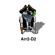 Pirate Droid Arr2-D2