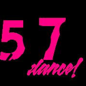 5 6 7 8 Lets Dance Womens Tri Blend Longsleeve Shirt