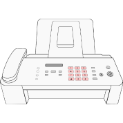 modern fax machine by martmel us spreadshirt