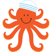 Octopus Sailor Nautical
