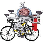 Brain Bike, Cyclist of the year 3000
