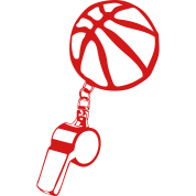 basketball referee whistle sports ball