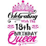 Celebrating With The 18th Birthday Queen Women S T Shirt Spreadshirt