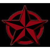Black And Red Nautical Star Pin 5 Pack Small Buttons Spreadshirt