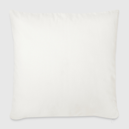 "Throw Pillow Cover 17.5"" x 17.5"" - Front"