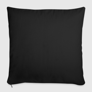 "Throw Pillow Cover 18"" x 18"" - Back"