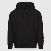 Black Virgo-Virgin-Zodiac-Sign Sweatshirt - Men's Hoodie