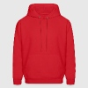 Red Tribe Eye Men - Men's Hoodie