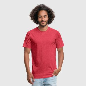 Fitted Cotton/Poly T-Shirt by Next Level - Front