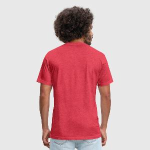 Fitted Cotton/Poly T-Shirt by Next Level - Back
