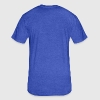Amsterdam Canal houses - Fitted Cotton/Poly T-Shirt by Next Level