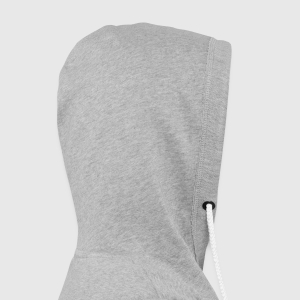 Unisex Lightweight Terry Hoodie - Hood right