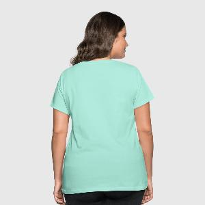 Women's Curvy T-Shirt - Back