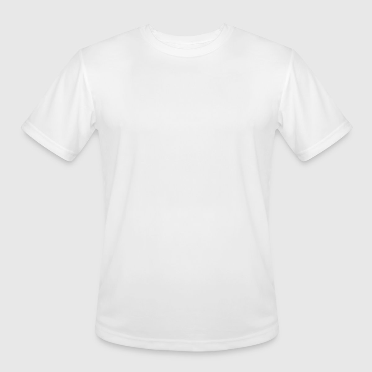 Men's Moisture Wicking Performance T-Shirt - Front