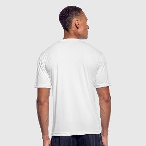 Men's Moisture Wicking Performance T-Shirt - Back